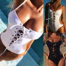 Carmella Laced Up Swimsuit - FREE (Limited Time Offer)