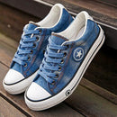 Cassielyn Denim Sneakers - FREE (Limited Time Offer)
