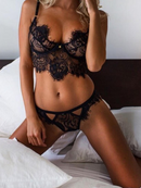 Natalia Black Lace Bralette (FREE, Limited Time Offer)