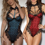 Shaniah One Piece Teddy Lace Lingerie - Free (Limited Time Offer)