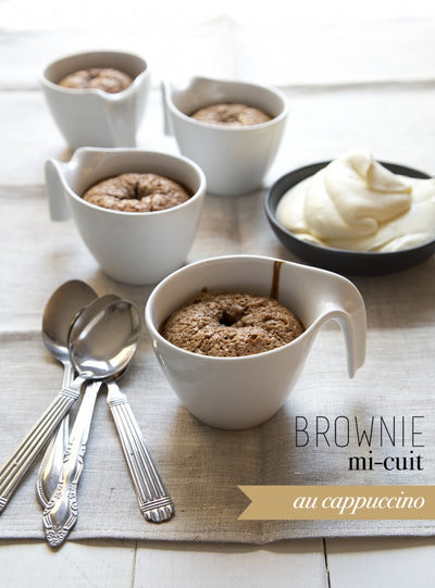 Brownie mi-cuit Capuccino