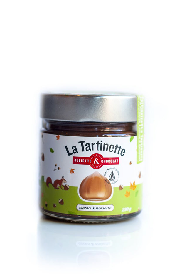 The Tartinette: the Cocoa & Hazelnut Spread