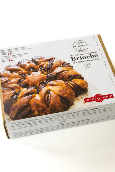 Juliette's pastry box no1: braided chocolate-hazelnut brioche