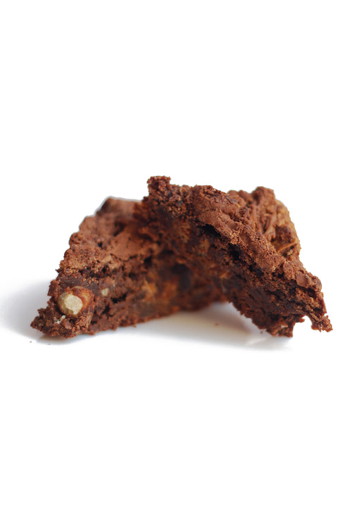 Hazelnut vegan brownie