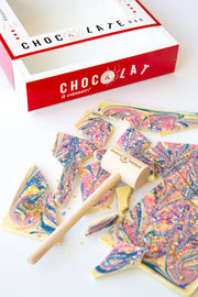 Unicorn chocolate bar to break