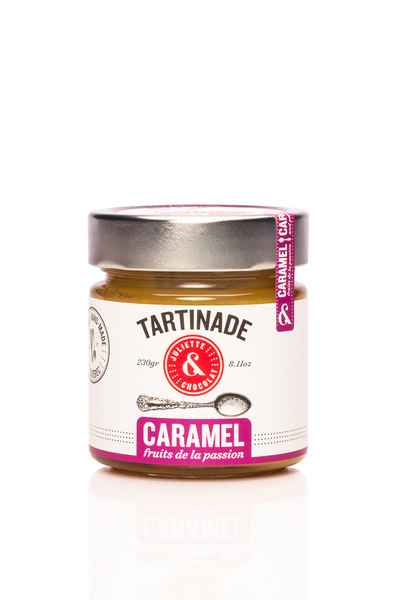 Tartinade Caramel et Fruits de la passion