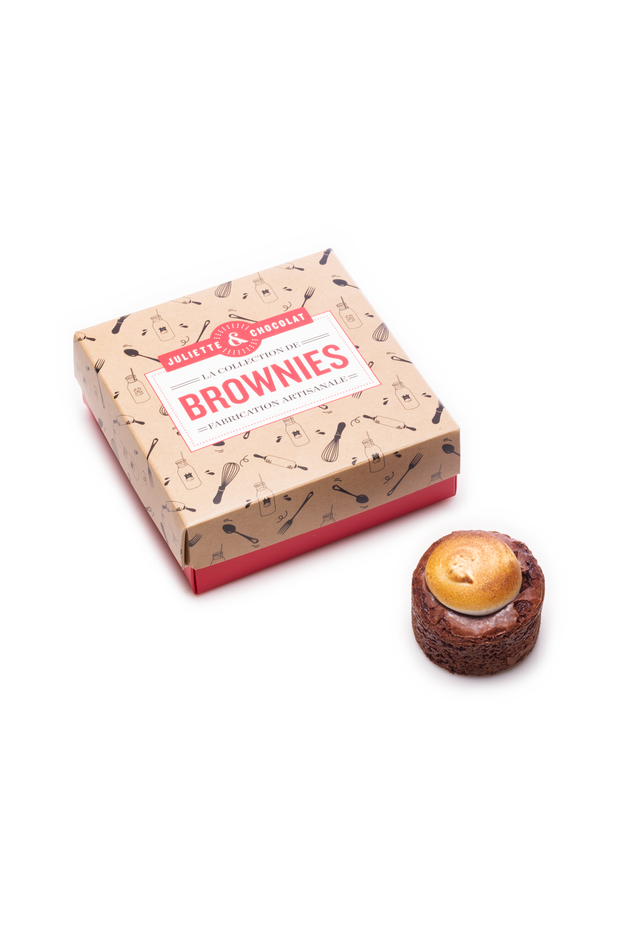La Collection de 4 Brownies au choix | Juliette & Chocolat