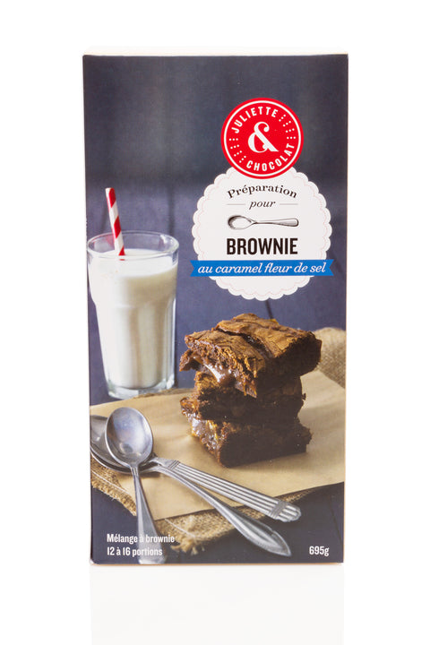 Salted Caramel Brownie Mix