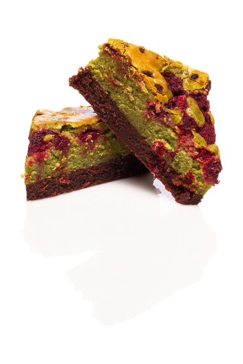 Le Brownie Matcha par Juliette & Chocolat