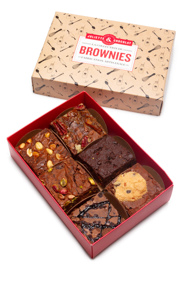 La Collection de 6 Brownies