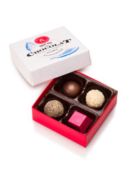 Chocolate candies box (4 chocolates)