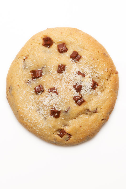 "Le ""Cookie Monstre"" King Kookie (Banane, pépites de chocolat, noix de coco)"