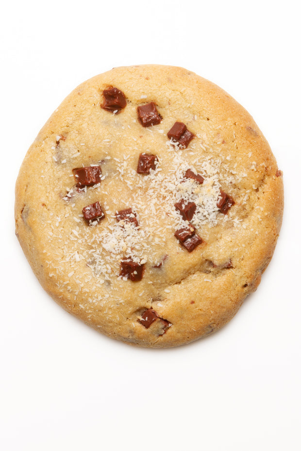 "The ""Monster Cookie"" King Kookie (Banana, chocolate chips, coconut)"