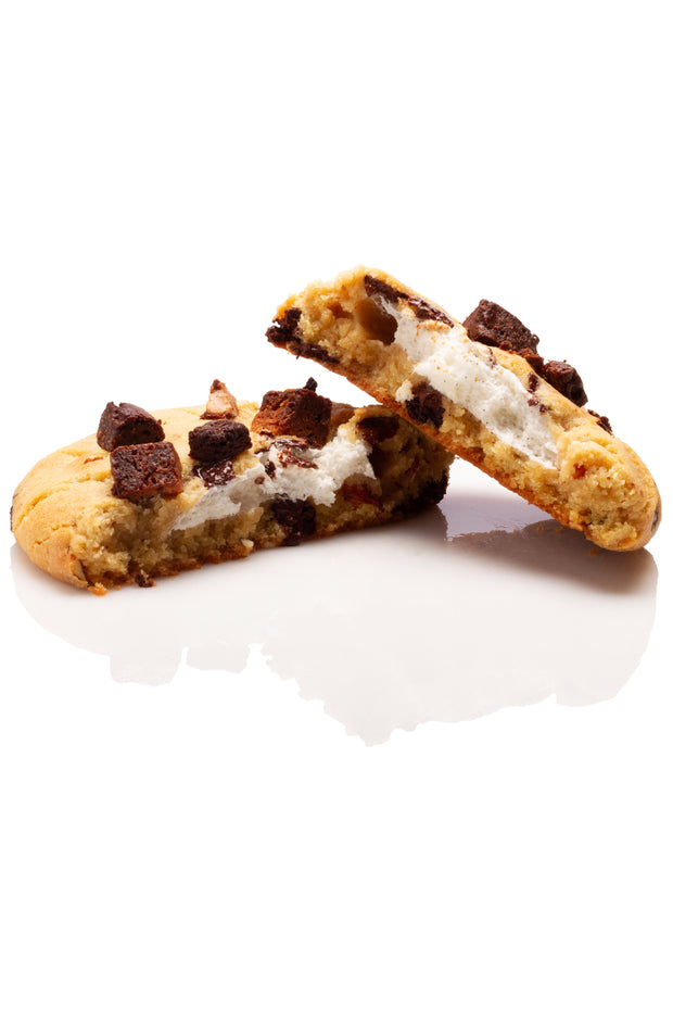 "Le ""Cookie Monstre"" L'Abominable Cookie des Neiges (brownie, chocolat et guimauves)"