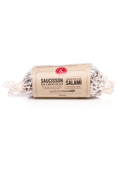Chocolate puffed rice Salami