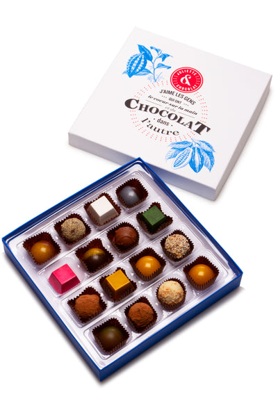 Chocolate candies box (16 chocolates)
