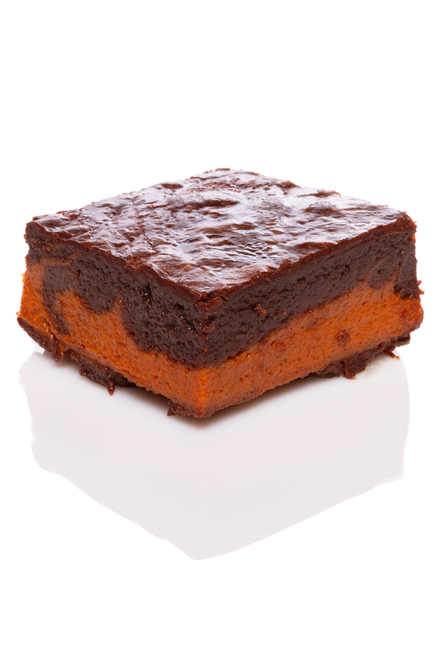 Le Brownie Citrouille par Juliette et Chocolat