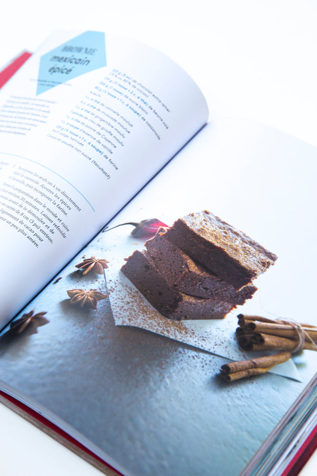 Juliette's book + 500g of Belgian 55% dark chocolate (free delivery)