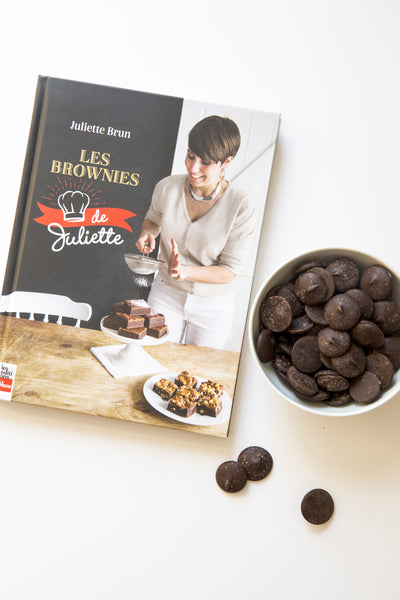 Juliette's book + 250 g of Belgian dark chocolate as a GIFT!