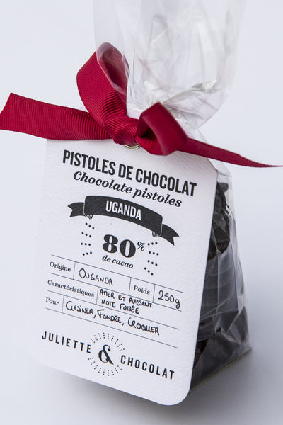 Uganda 80% Dark Chocolate Drops