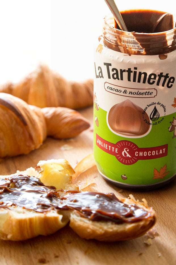 The Tartinette: the Cocoa & Hazelnut Spread - 500g jar
