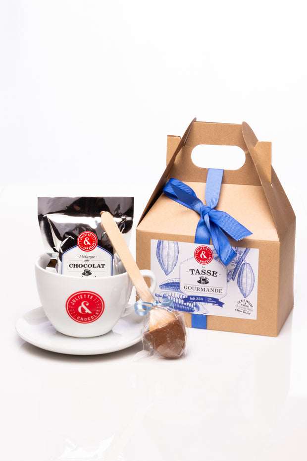 Milk Chocolate beverage Gift Set