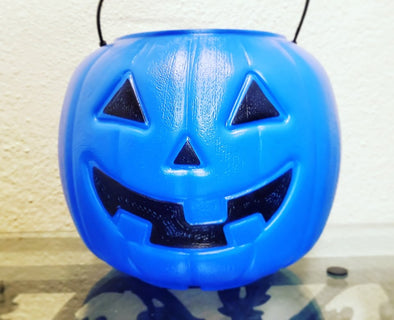 Mother Urges Use Of Blue Buckets For Autism Awareness This Halloween