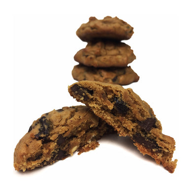Chestnut Cherry Cashew Chocolate Cookies