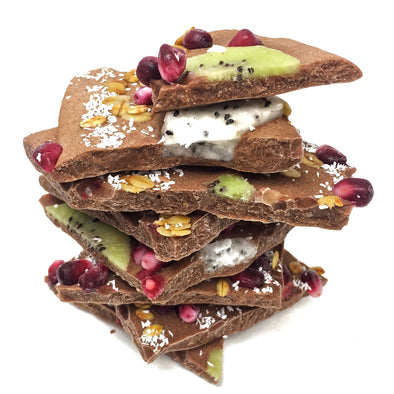 Vegan Frozen Yogurt Bark