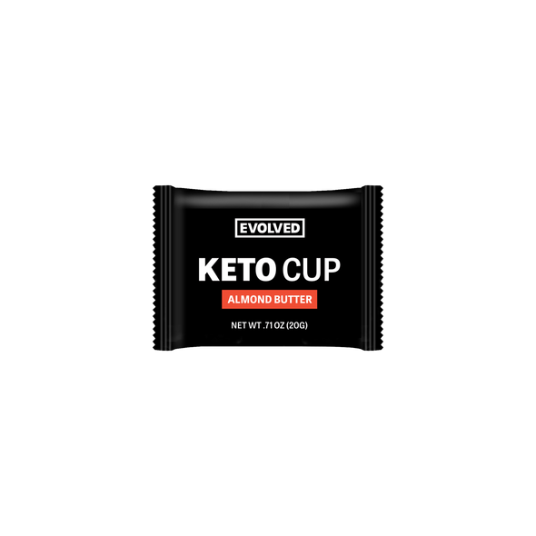 KETO CASE - UNSWEETENED ALMOND BUTTER KETO CUPS - 50 CUPS