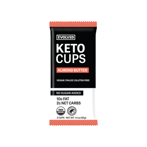 ALMOND BUTTER KETO CUPS 2 PACK