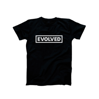 Black Evolved Legacy T-Shirt - White Logo