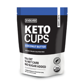 COCONUT BUTTER KETO CUPS POUCH - 7 CUPS
