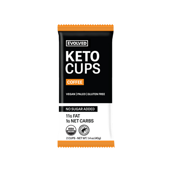 COFFEE KETO CUPS - 2 CUPS