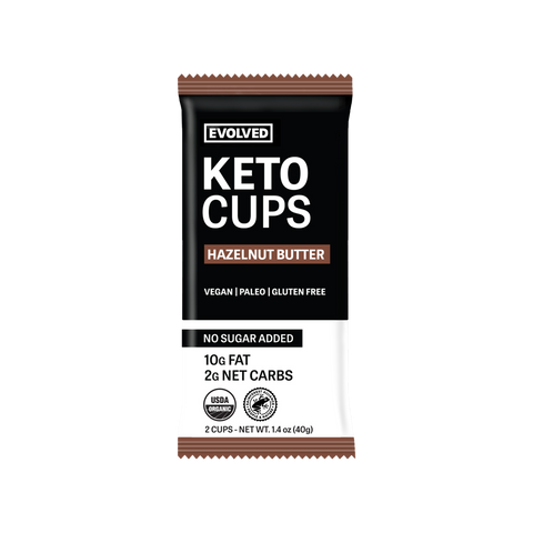 HAZELNUT BUTTER KETO CUPS 2 PACK