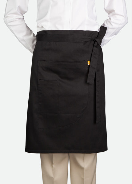 APR005 Knee-Length Waist Apron with Pocket [ CLEAR STOCKS ]