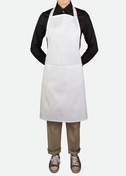 APR009 Classic Pinafore Apron Quadrant Pocket