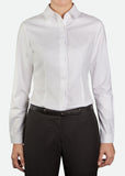 FBL003 Women's Long Sleeve Blouse with Concealed Placket [ CLEAR STOCKS ]