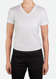 FTS002 Women's Short Sleeve V-Neck T-Shirt [ CLEAR STOCKS ]