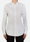 FPL003 Women's Easy-Care Long Sleeve Pique Shirt [ CLEAR STOCKS ]