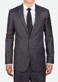 MBZ012 Men's Two-Button Jacket with Notch Lapel, Slim Fit