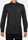MPL003 Men's Easy-care Long Sleeve Pique Shirt [ CLEAR STOCKS ]