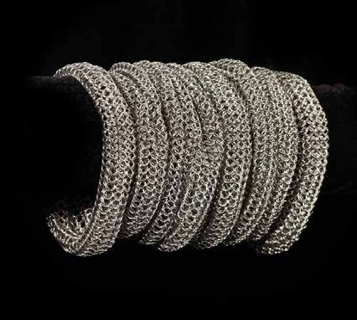 Chainmail Slouch Bracelet
