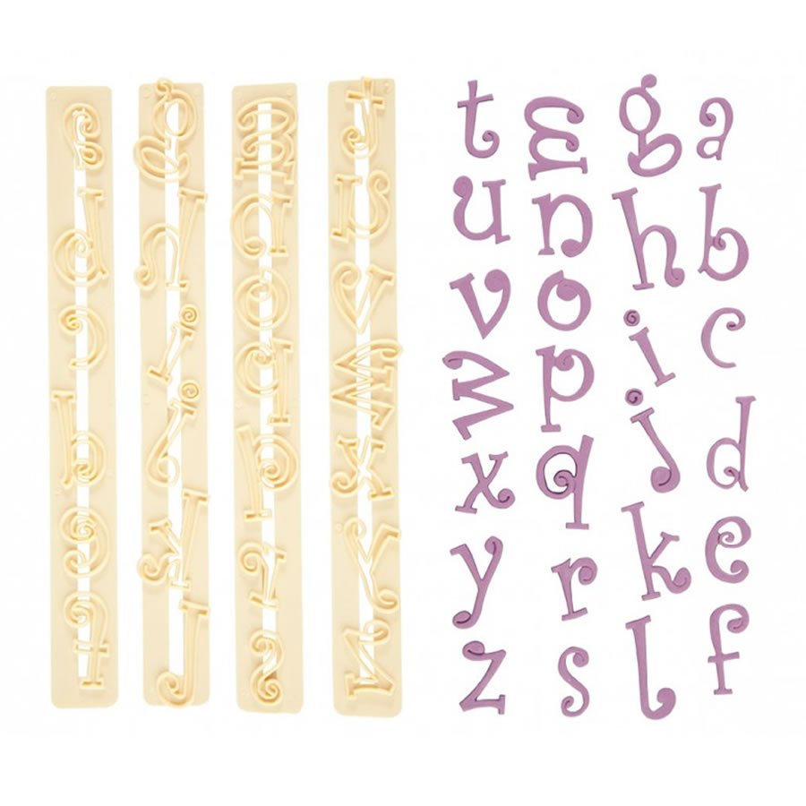 Funky Alphabet Set Cutter