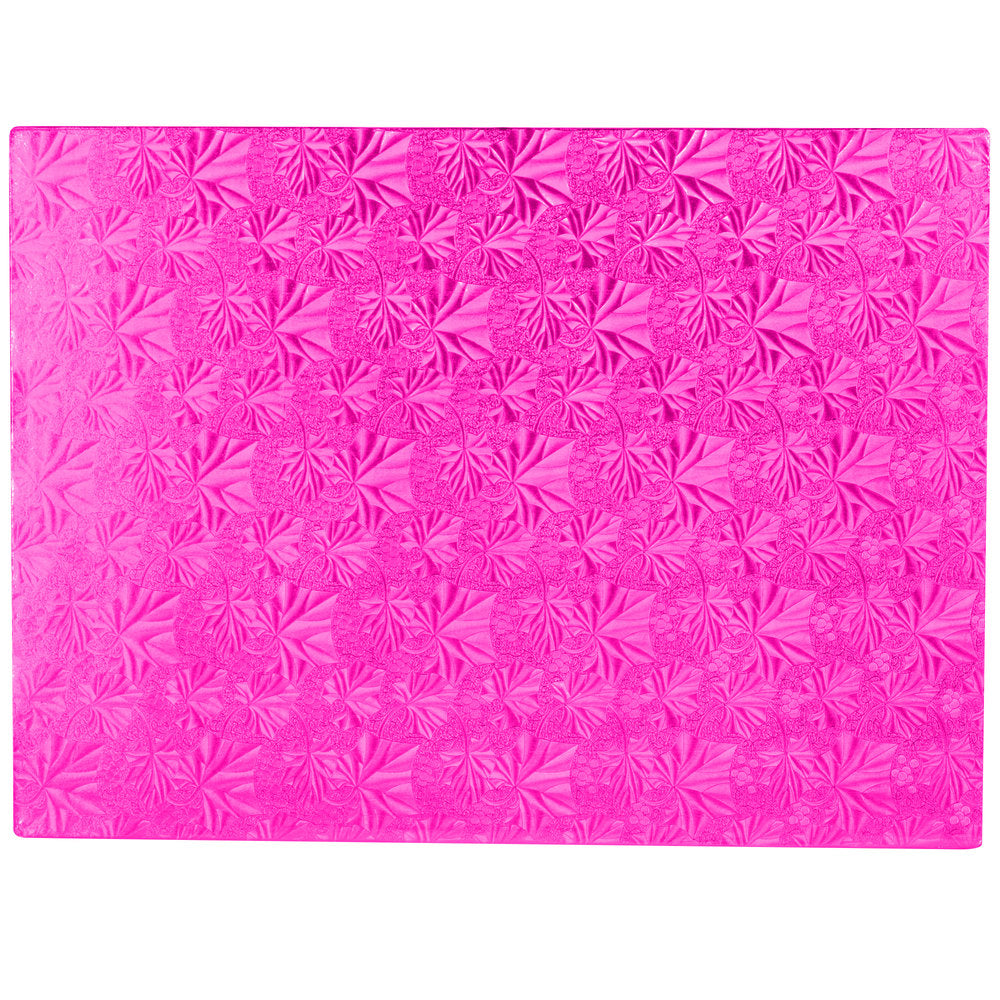 "Rectangle Pink Cake Drum 1/2"" Thick"