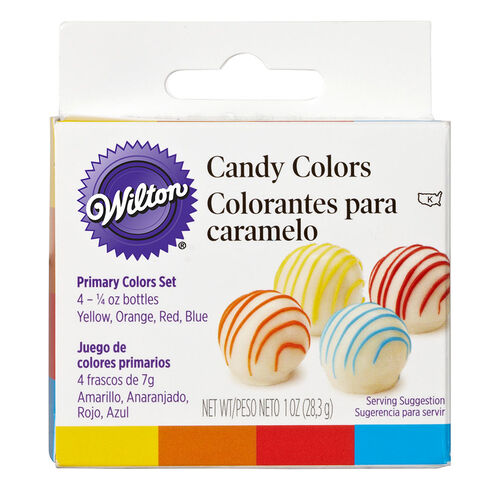 Candy Decorating Primary Colors Set