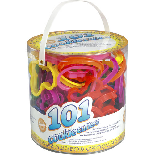 101-Piece Cookie Cutters Set