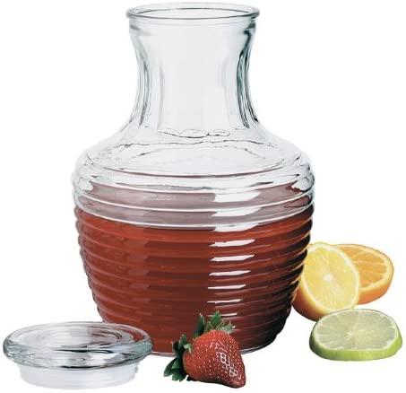 Chiller Glass Pitcher with Lid