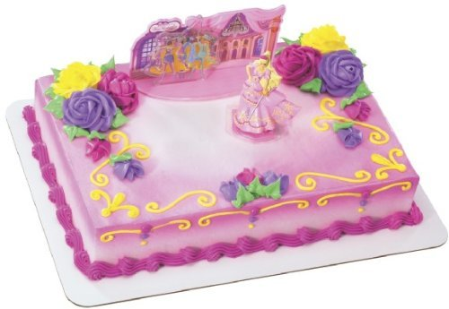 Cake Topper - Barbie Three Musketeers