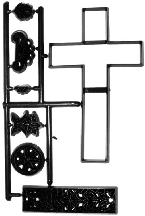 Large Cross & Lace Cutter Set